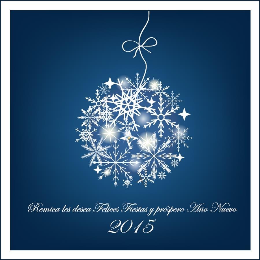 Remica Servicios Energéticos: felicitacion Navidad